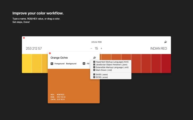 Aquarelo for Mac 1.0.3 破解版 - 颜色设计工具