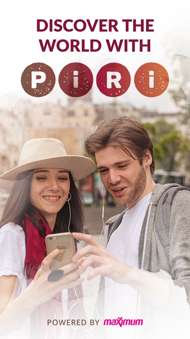 Piri - Audio Walking Tours Screenshot