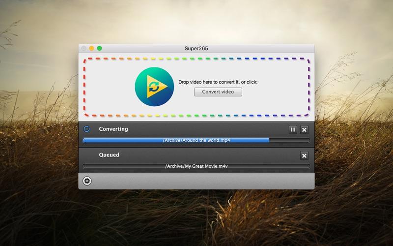Super265 for Mac 1.0.9 破解版 - H.265格式转换工具