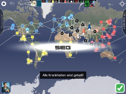 Pandemic: The Board Game Screenshot
