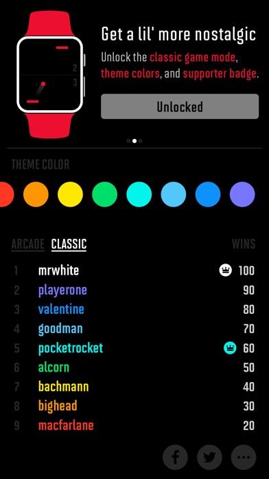A Tiny Game of Pong Screenshot
