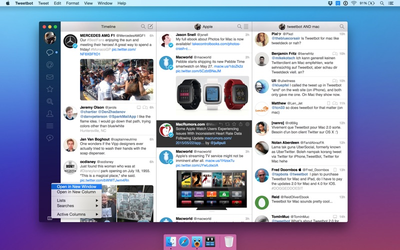 Tweetbot for Twitter Screenshot