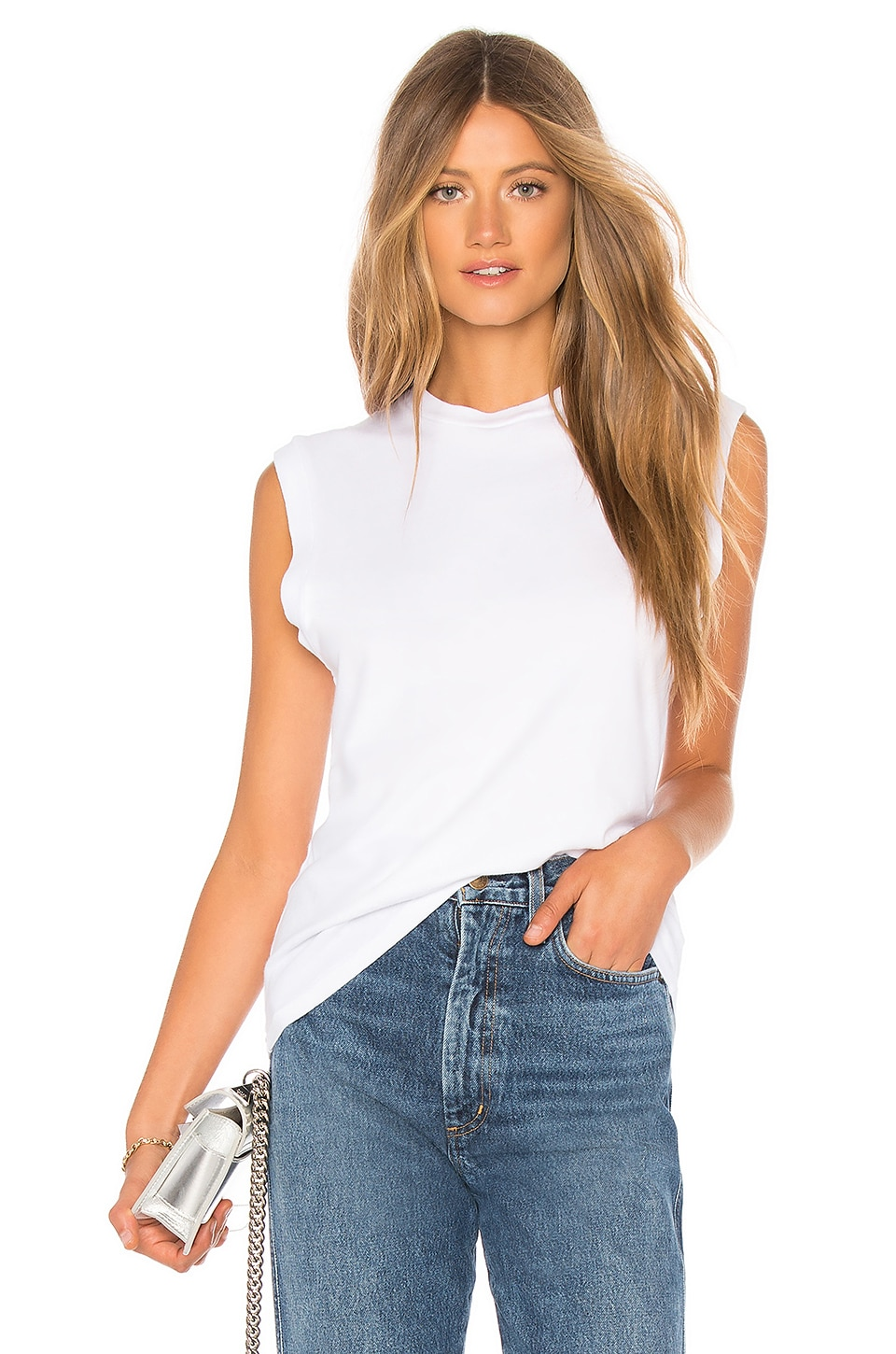 Muscle Tee             AGOLDE                                                                                                                                         Sale price:                                                                       CA$ 48.34                                                                                                  Previous price:                                                                       CA$ 82.47 8