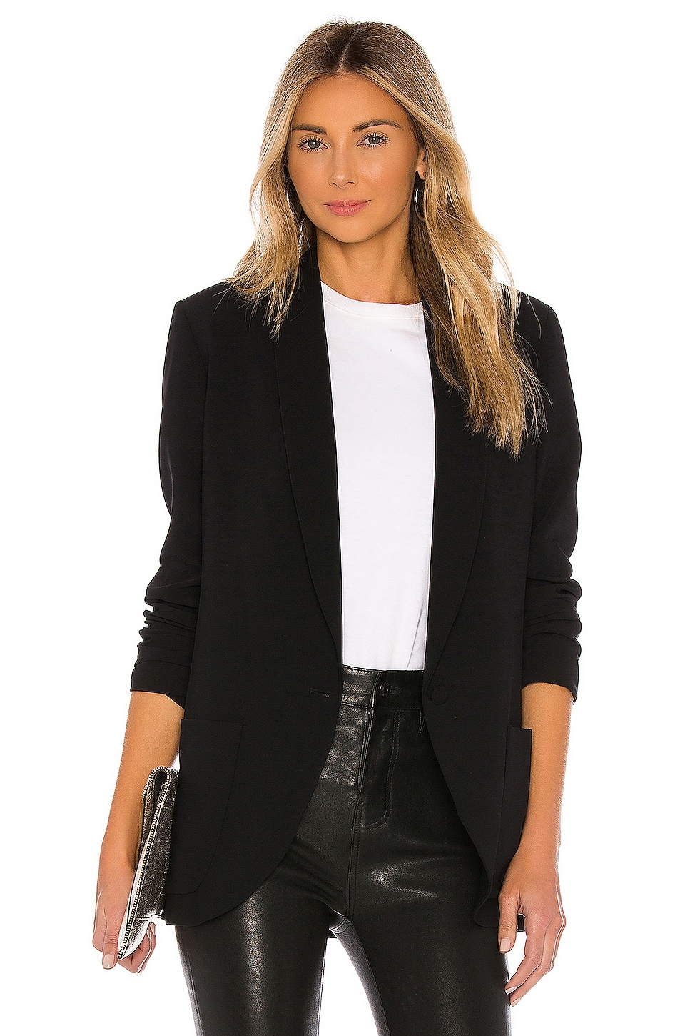 Shawl Collar Blazer                     Amanda Uprichard 9