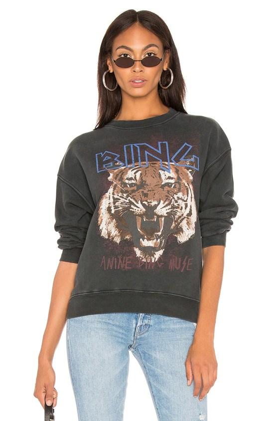Tiger Sweatshirt                     ANINE BING 2