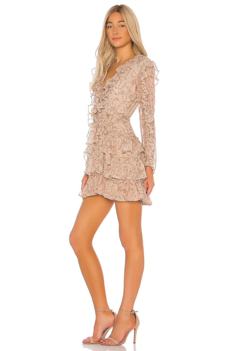 Alessia Frill Dress, view 2, click to view large image.