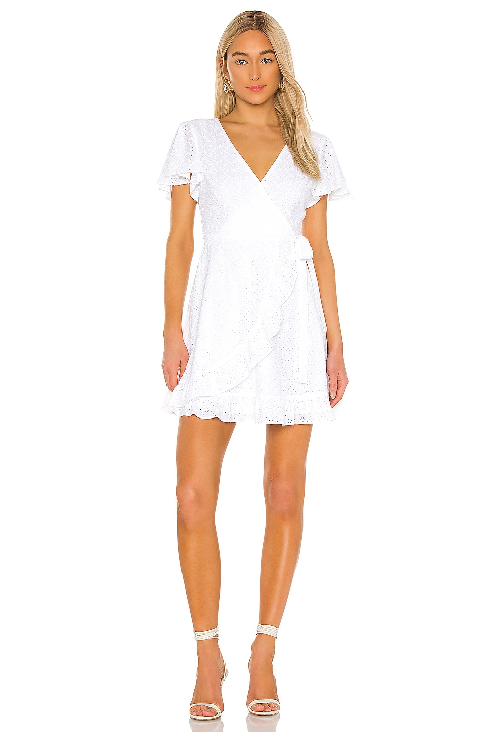 JACK by BB Dakota Easy On The Eyelet Wrap Dress                     BB Dakota 3