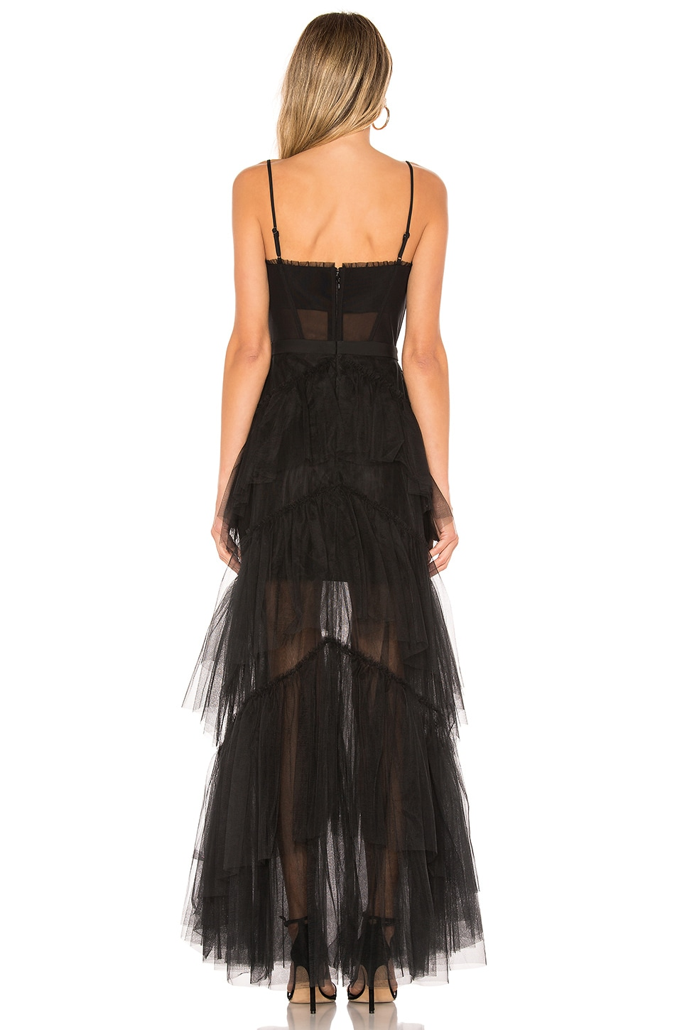 Corset Tulle Gown, view 3, click to view large image.
