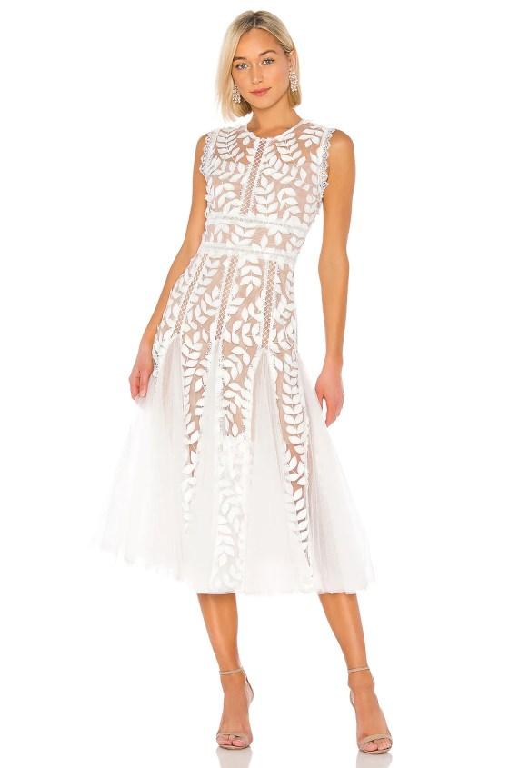 Saba Blanc Midi Dress             Bronx and Banco                                                                                                       CA$ 581.06 5