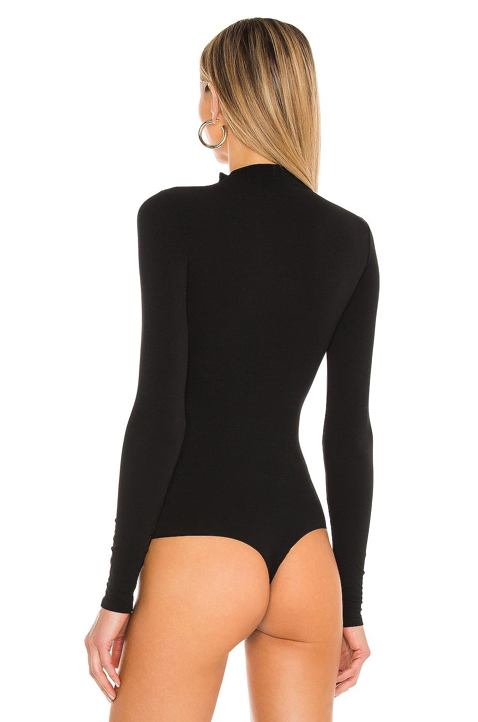Ballet Body Thong Bodysuit, view 4, click to view large image.
