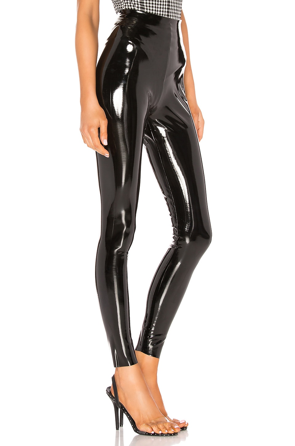 Perfect Control Patent Leather Legging, view 2, click to view large image.