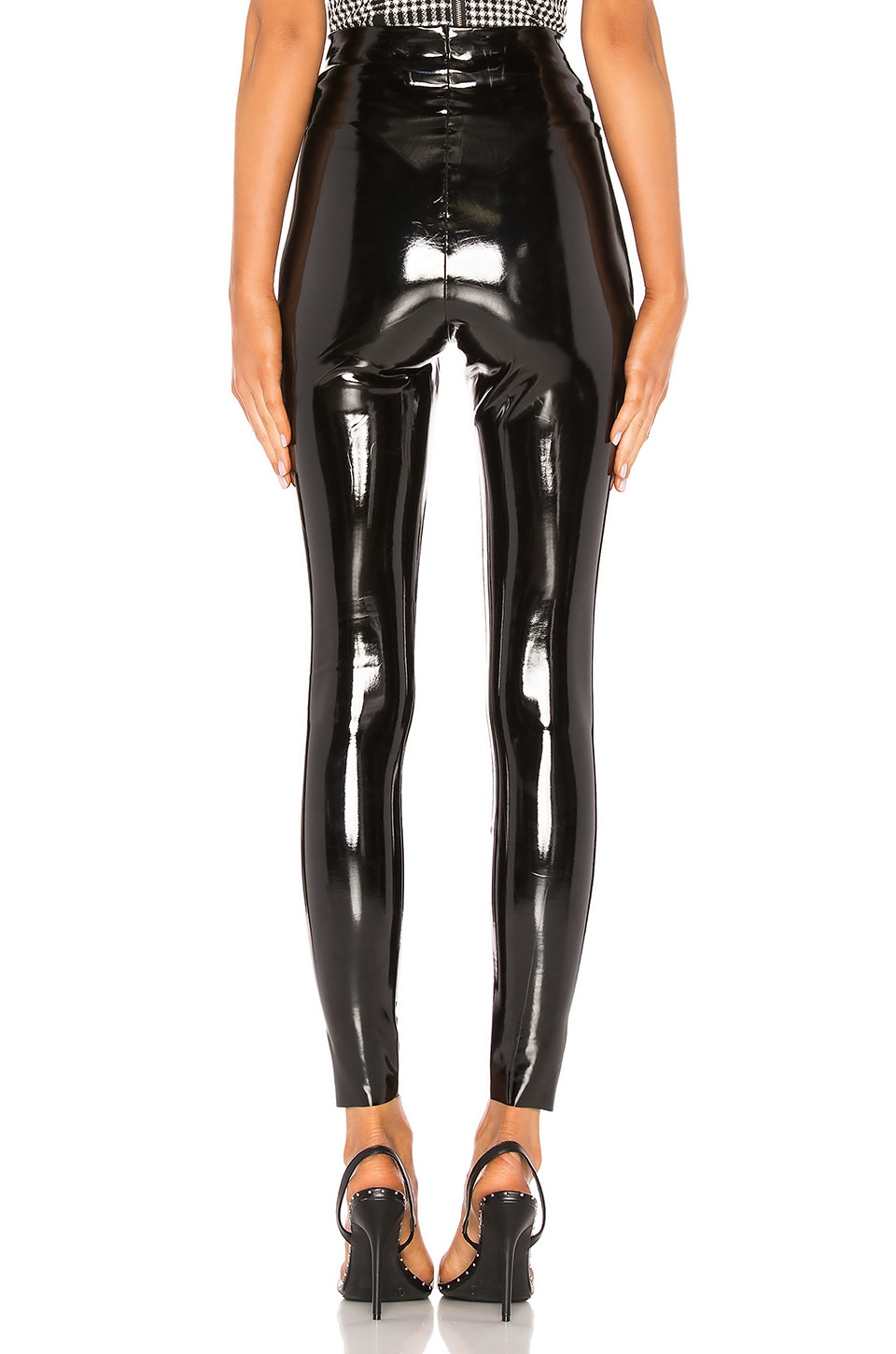 Perfect Control Patent Leather Legging, view 3, click to view large image.