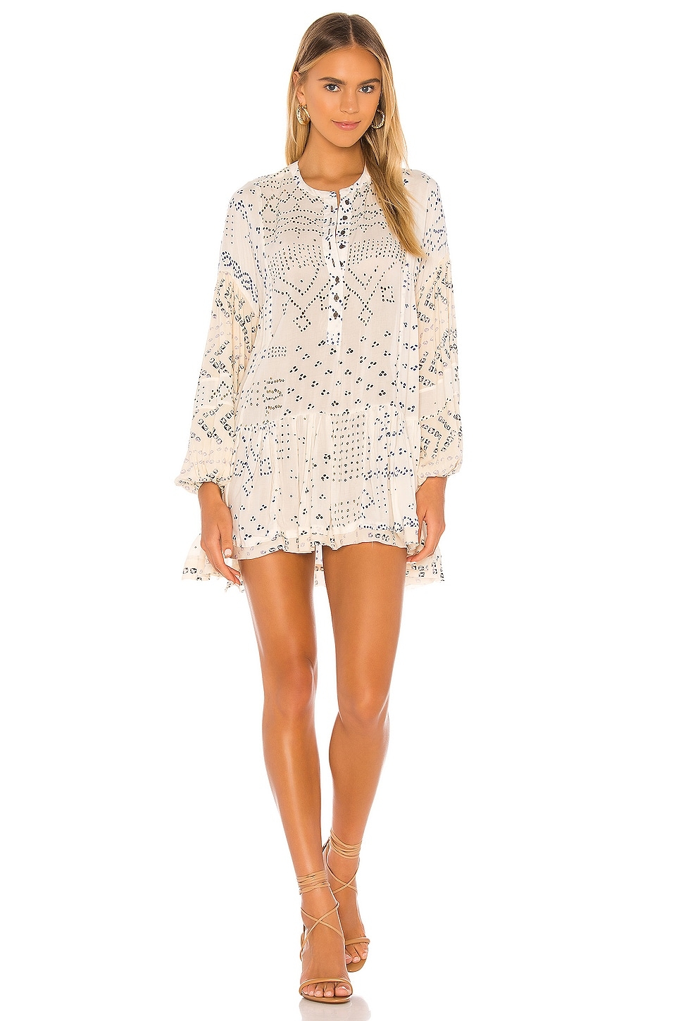 Shibori Tunic                     Free People 5