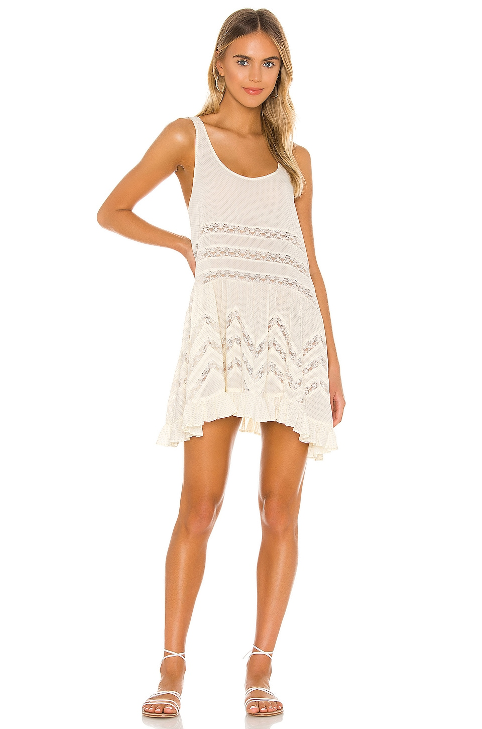 Voile and Lace Trapeze Slip                     Free People 7