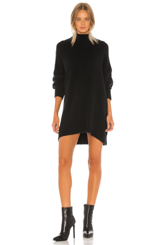 Afterglow Mock Neck Sweater Dress                   Free People                                                                                                                             CA$ 167.39 9