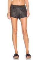 Perforated Leather Short