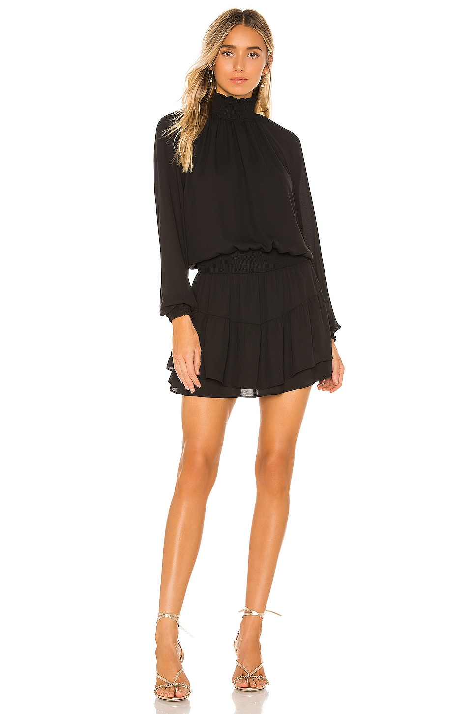 X REVOLVE Smocked Turtleneck Dress             krisa                                                                                                       CA$ 257.95 10
