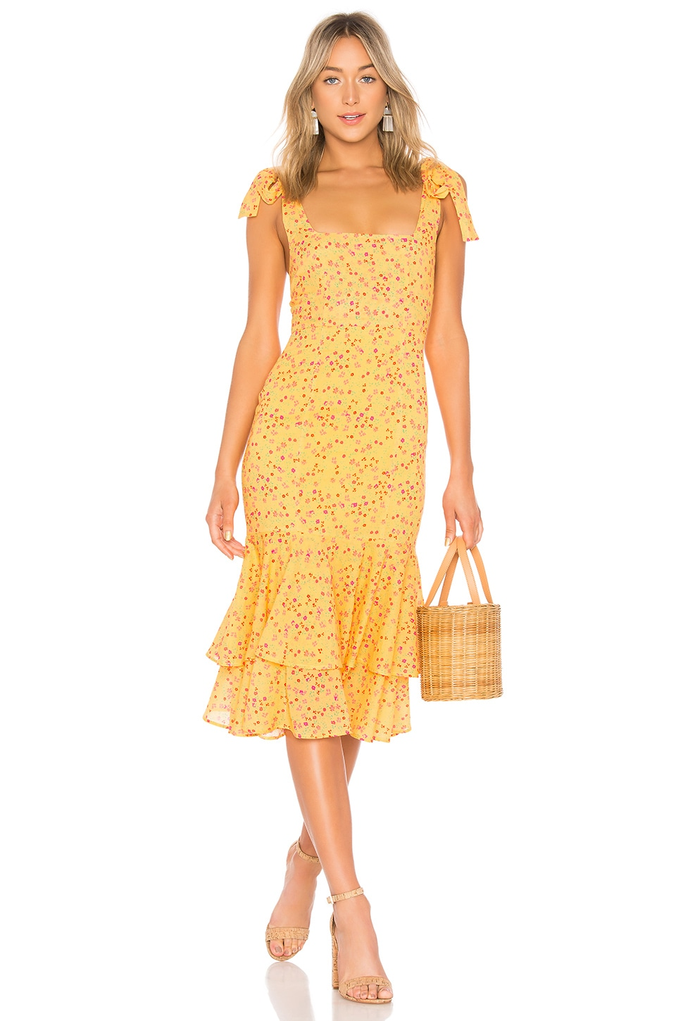Day Keeper Midi Dress             Lovers + Friends                                                                                                       CA$ 324.17 4