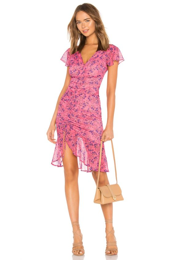 Elaine Midi Dress                   MAJORELLE                                                                                                                             CA$ 232.78 1