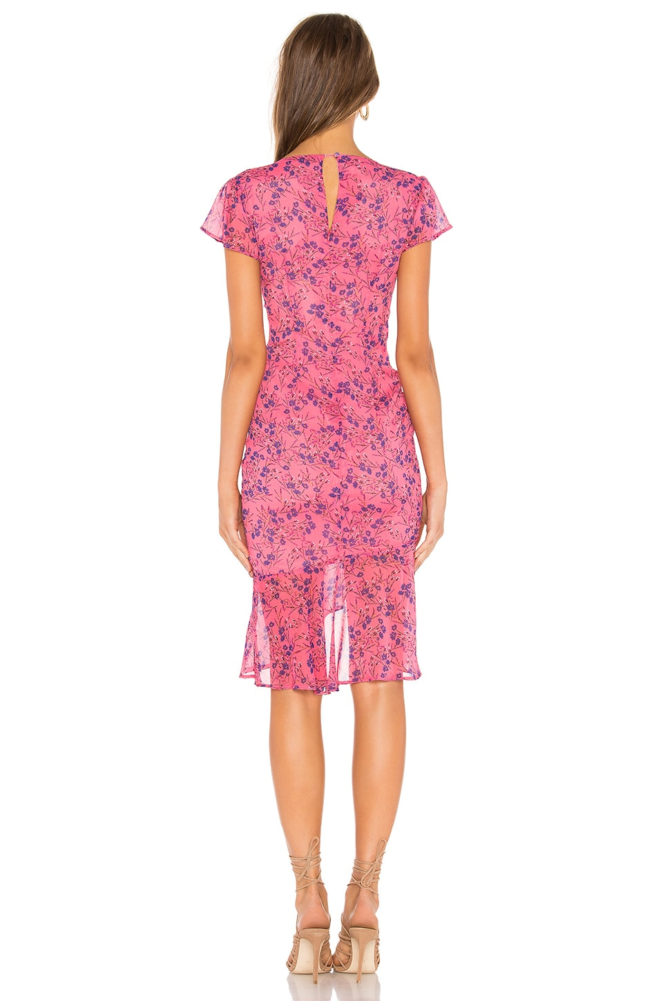 Elaine Midi Dress, view 3, click to view large image.