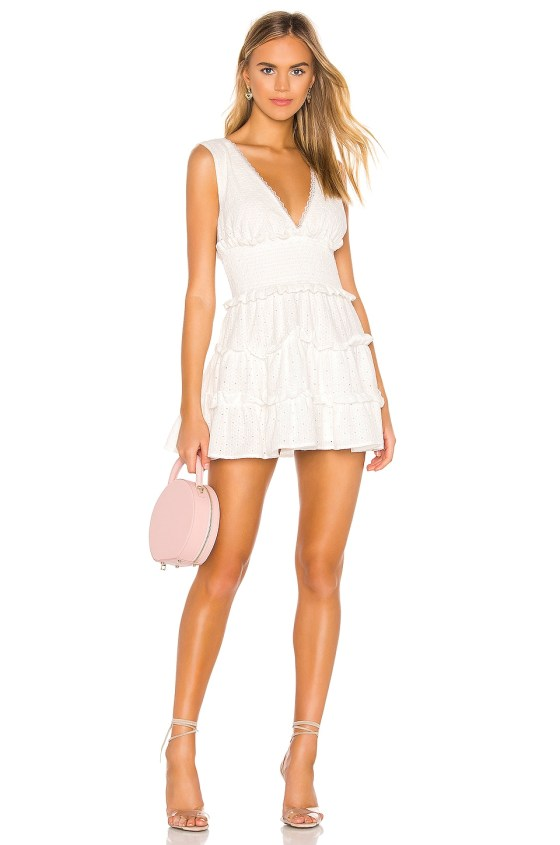 Las Palmas Mini Dress                   NBD                                                                                                                                                     Sale price:                                                                        CA$ 150.39                                                                                                  Previous price:                                                                       CA$ 311.24 5