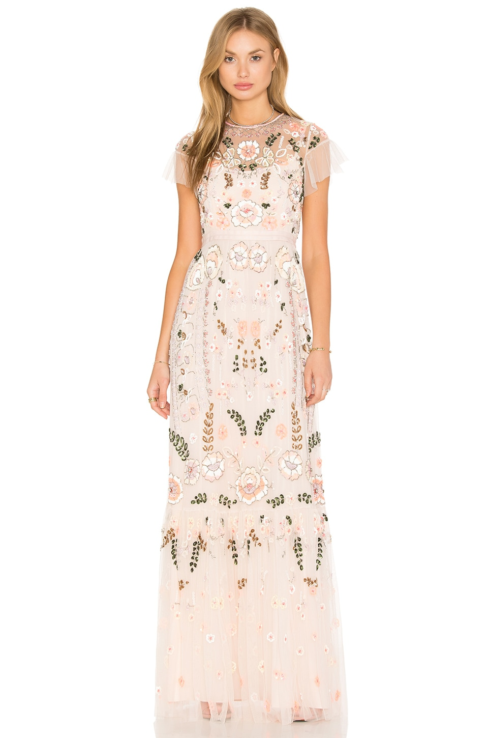 Needle And Thread Vintage Floral Dress