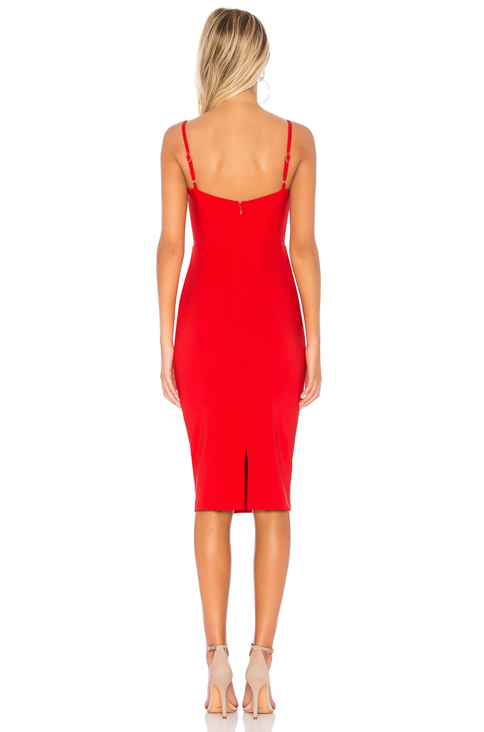 Allure Midi Dress, view 3, click to view large image.