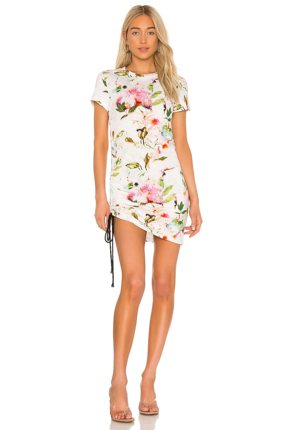 Short Sleeve Side Shirred Mini Dress             Pam & Gela                                                                                                       CA$ 206.16 9