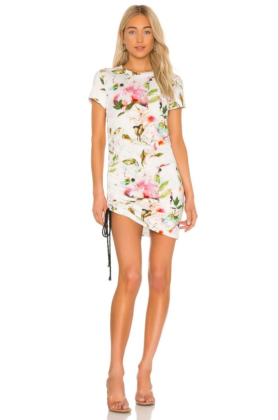 Short Sleeve Side Shirred Mini Dress             Pam & Gela                                                                                                       CA$ 206.16 3