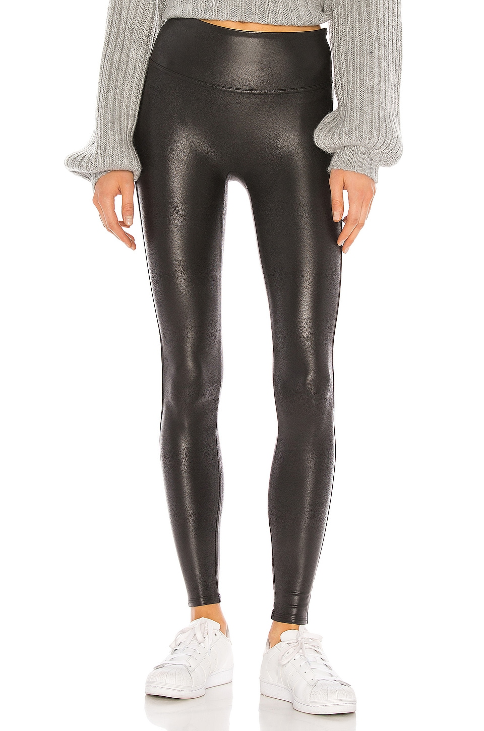 Petite Faux Leather Legging                     SPANX 5