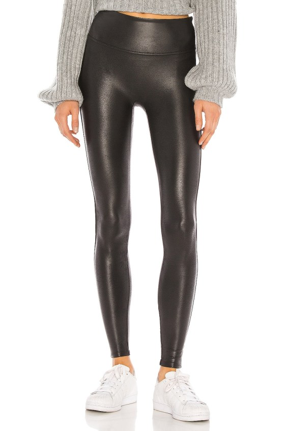 Petite Faux Leather Legging             SPANX                                                                                                       CA$ 130.31 1