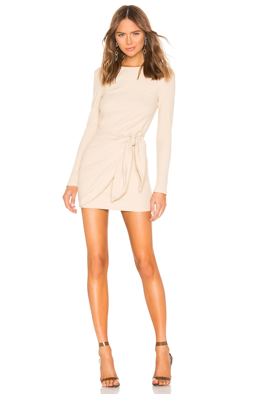 Dana Wrap Mini Dress                     superdown 1