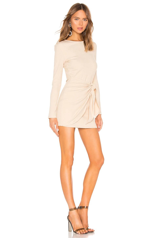Dana Wrap Mini Dress, view 2, click to view large image.
