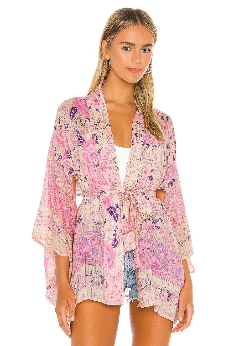 x REVOLVE Mystic Short Robe, view 2, click to view large image.