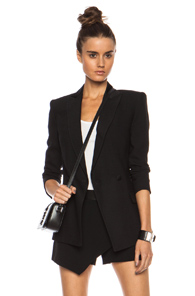 BLK DNM Tux Poly-Blend Jacket 18 in Black