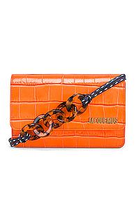 JACQUEMUS Le Sac Riviera Bag in Orange