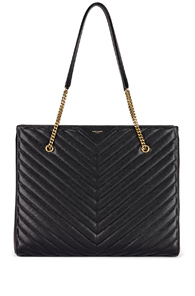 Saint Laurent Jumbo Tribeca Bag in Black