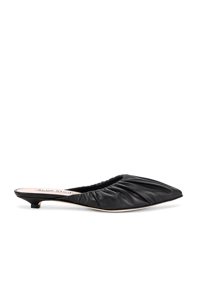 Acne Studios Beatrice Mules in Black. - size 36 (also in 37,38,39,40,41)