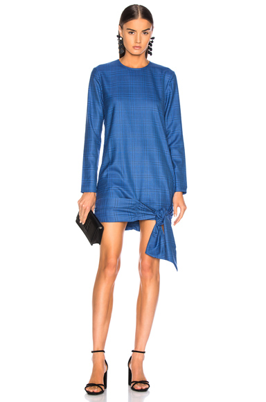 Atoir Take Me Back Dress in Blue,Plaid. - size M (also in )