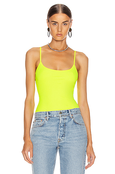 Alix Elizabeth Bodysuit in Yellow. - size XS (also in )