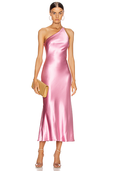 GALVAN Cropped Roxy Dress in Pink. - size 40 (also in 38,42)