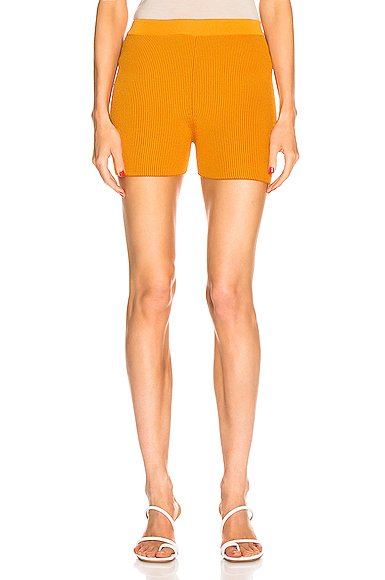 JACQUEMUS Arancia Short in Orange. - size 42 (also in )