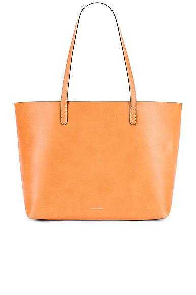Mansur Gavriel Large Tote Bag in Brown.
