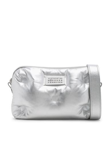 Maison Margiela Glam Slam Number Crossbody Bag in Metallic.