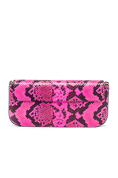 Marques ' Almeida Clutch Bag in Pink.