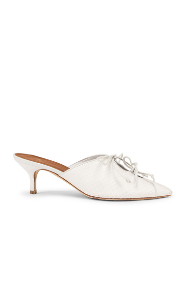 Malone Souliers Victoria MS 45 Heel in White. - size 36 (also in 37,37.5,38.5,39,39.5,40,41)