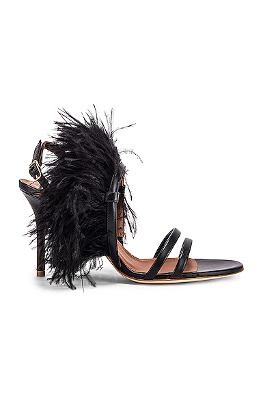 Malone Souliers Sonia MS 85 Heel in Black. - size 36 (also in 37,38.5,40,36.5,37.5,39.5,41)