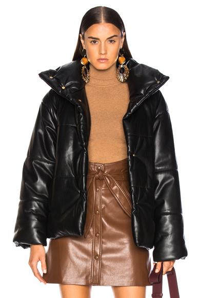 Nanushka Hide Jacket in Black. - size S (also in M,XS)