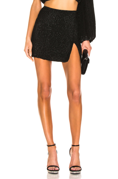 retrofete Frances Skirt in Black. - size XS (also in M,S)