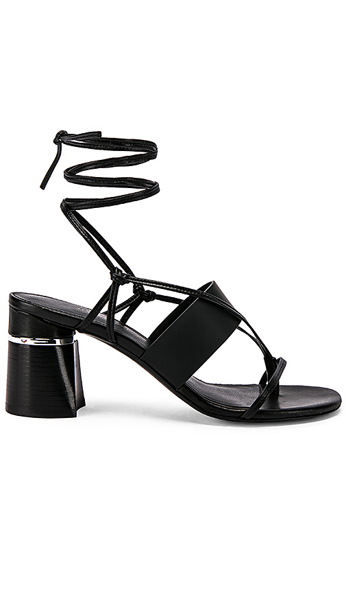3.1 phillip lim Drum Strappy Heel in Black. - size 37 (also in 36,38.5)